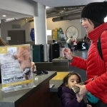You can donate to save wildlife right at our cashier stations!
